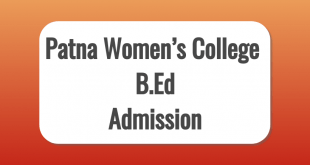 Patna Women's College B.Ed Exam